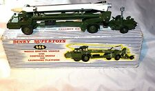 Dinky 666 Corporal Missile Erecting Vehicle, Very Good Condition in Original Box