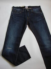 JEANS EDWIN  ED80 SLIM ( dark  cotton  - blue rigger repair  ) TAILLE W38 L34