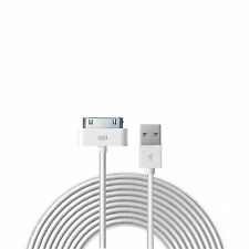 Cable USB de 1m iPhone 4S 4 3GS iPad iPod Touch Nano Classic Shuffle Carga Datos