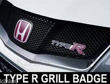 2007-2011 Civic FN2 HP type R typer front grill badge emblème VTEC Mugen