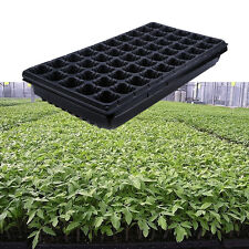 50 Cells For Seed Starting Tray Seeds Garden Greenhouse Farm With Cover