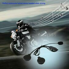Motorcycle Helmet Stereo Headset Call Earphone Microphone Volume Controller ER0L