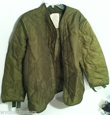 MILITARY ~ COLD WEATHER COAT LINER ~ MEDIUM 37 to 41 ~ US MILITARY COAT LINER