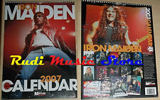 CALENDARIO IRON MAIDEN 2007 SIGILLATO no cd dvd lp mc tour live
