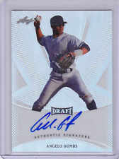 2013 Leaf Metal Draft Prismatic Refractor #BAAG2 Angelo Gumbs Auto