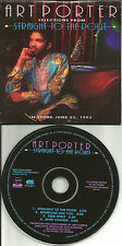 ART PORTER Rare 1993 USA 4TRK sampler  CARD SLEEVE PROMO DJ CD single USA