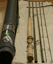 11ft 6in 7/8wt 4section Switch  fly rod with Extra TIP rod tube and rod sock