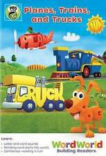 WordWorld: Planes, Trains, and Trucks 2016 by PBS EXLIBRARY