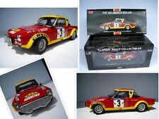 "Fiat 124 Abarth ""rally East African Safari"" limitado 799 unidades * 1:18*sun Star"