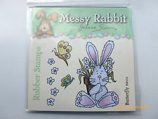 New - Joanna Sheen - Messy Rabbit - Stamp Plate - Butterfly