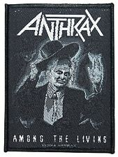 "Anthrax ""Among The Living"" Album Art Thrash Metal Band Sew On Applique Patch"