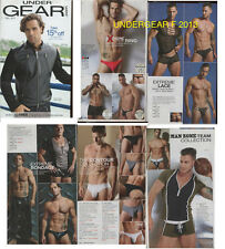 UNDERGEAR FALL 2013 PREVIEW LEATHER SPEEDOS PLAYGIRL MODELS DNA MEN INTERNATIONA