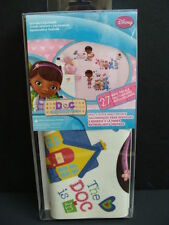 NEW Doc McStuffins Wall Decals Peel &  Stick Removable 27 pcs Room Decor Disney