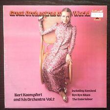 """BERT KAEMPFERT """"GREAT ORCHESTRAS OF THE WORLD"""" vol.2 - LP POLYDOR 1978"""