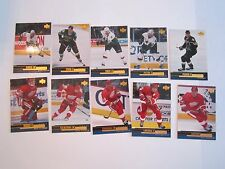 (60) 1999 & 2000 UPPER DECK HOCKEY CARDS - SEE PICS - NM - LOT G