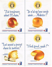 PUBLICITE ADVERTISING 045  1996  HOLLAND  fromages DAVE