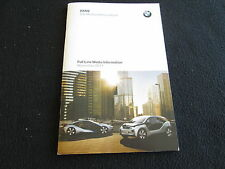 2012 BMW Press Brochure M3 135i 740i 528i 335i Z4 sDrive X6M X5M i3 i8 Electric