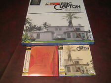 ERIC CLAPTON JAPAN REPLICA OBI CD'S 461 & E.C + 180 GRAM VINYL 3 LP BOX SET