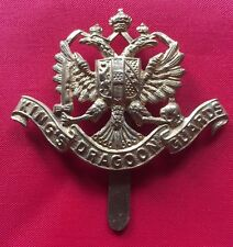 WW1 KING'S DRAGOON GUARDS CAP BADGE- 100% ORIGINAL GUARANTEED!!!