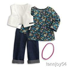 My American Girl Weekend Fun Outfit for Doll + Charm Saige, Isabelle Ivy NIB