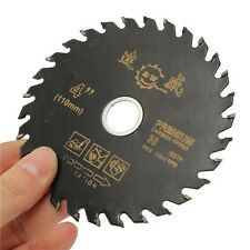 110mm 4Inch Carbide Circular Power Cutting Disc Saw Blade Wood Woodworking Tool