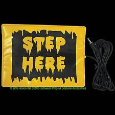 STEP HERE PAD SWITCH ACCESSORY Activates Animated Animatronic Props w- Mini Jack