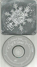 MICHAEL BUBLE Let it Snow LIMITED ORNAMENT PACKAGE OUT PRINT CHRISTMAS CD 2003