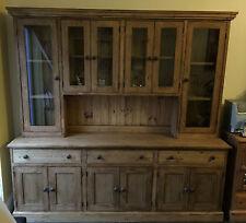 Pine 7ft waxed welsh dresser