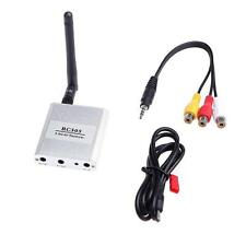 5.8Ghz 200mW 8 Channel FPV Audio Video Transmitter Camera Receiver RC305 HY