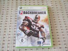 Backbreaker für XBOX 360 XBOX360 *OVP*