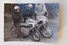 26540 MotorradRennen Foto Tom Phillis Australien Jim Redmann Rhodesien Autogramm