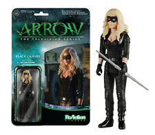 "Arrow Black Canary Funko ReAction Retro TV Action Figure 3 3/4"" Sarah Lance"