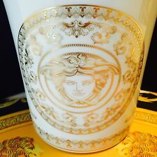 VERSACE MEDUSA GALA GOLD VASE FLOWER POT NEW WEDDING GIFT RETAIL $400 BEST SALE