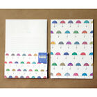 Cute Colorful Umbrella Letter set - 4sh Writing Stationery Paper 2sh Envelope