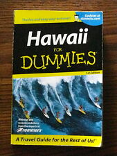 HAWAII FOR DUMMIES TRAVEL GUIDE BOOK HAWAII WITH TIPS FROM FROMMER'S GUIDE BOOK