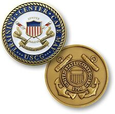 USCG Training Center Cape May Challenge Coin US Coast Guard NJ Recruit Boot Camp