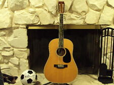 Vintage Martin D-12-35 Acoustic 12 String Guitar, Brazilian Rosewood, NO CRACKS!