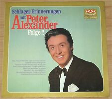Peter Alexander, Schlager Erinnerungen Folge 2, VG+/VG+  LP (7043)