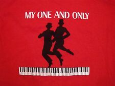 Vintage My One and Only Jazz Music Piano Duo T Shirt M