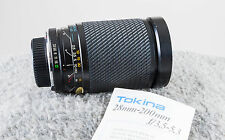 Tokina 28-200mm SZX F3.5-5.3 Super Zoom For Minolta MD  Tested/Guaranteed!