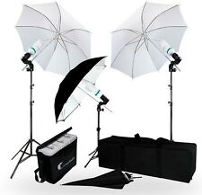 Photography/Video Portrait Umbrella Lighting Kit 840 Watt Studio Stand NEW