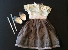 Genuine American Girl Doll Clothes - Silver Belle Outfit