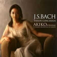 Akiko Suwanai Bach: Violin Concertos Limited Edition Japan SHM-CD UCCP-9635 New
