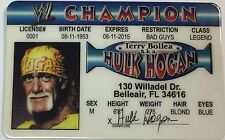Hulk Hogan - Champion - Drivers License Novelty - Legend