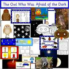 The Owl who was Afraid of the Dark- teaching resources on CD-Night and Day,story