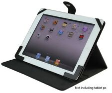 """Apple iPad 1/ 2/ 3/ 4  Black Smart cover Leather Case for most of 9.7"""" Tablet pc"""