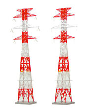 Tomytec (Komono 084-2) Electrical Tower A2 Red (Pylon) 1/150 N scale