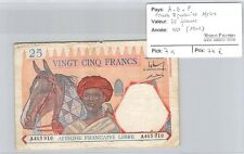 BILLET AEF - FRENCH EQUATORIAL AFRICA - 25 FRANCS - ND(1941)