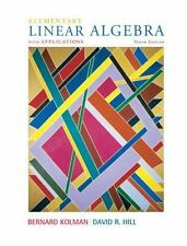 NEW - Elementary Linear Algebra with Applications (9th Edition)
