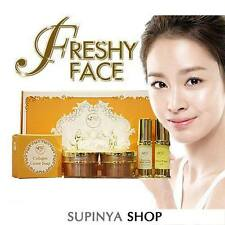 NEW FRESHY FACE GOLD SET ACNE & BLEMISH TREATMENTS WHITENING 5 pcs